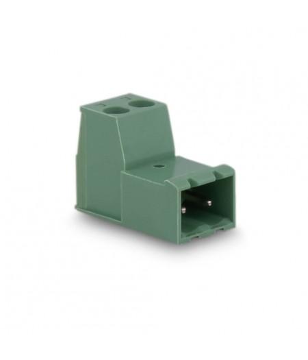 3,81mm Soket Kablo Birleştirici Erkek Klemens - 2 Pim