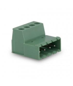 3,8mm Soket Kablo Birlşetirici Erkek Klemens - 4 Pim