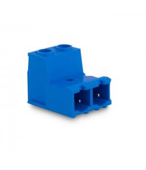 7,62mm Soket Kablo Birleştici Erkek Klemens - 2 Pim