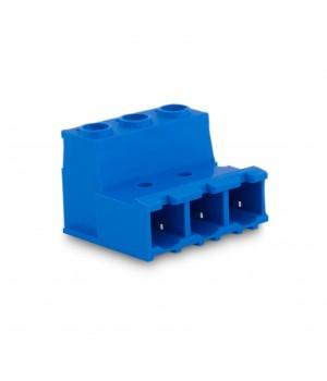 7,62mm Soket Kablo Birleştirici Erkek Klemens - 3 Pim
