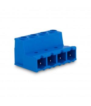7,62mm Soket Kablo Birleştirici Erkek Klemens - 4 Pim